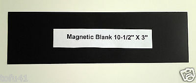***Magnetic Back for Bumper Stickers*** L
