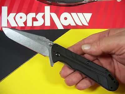 "KERSHAW - THERMITE Hinderer Spring Assist SPEEDSAFE ""FLIPPER"" knife G-10 ks 3880"