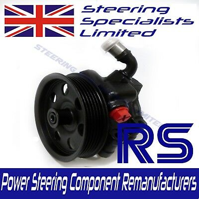 FORD FOCUS RS MK 1 GENUINE RECONDITIONED POWER STEERING PUMP, 2.0 16v TURBO