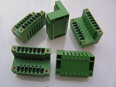 IMO 21.157MVF/7 PCB 2x7 way Terminal Block 3.81mm pitch I169B 5 pieces MBA003b