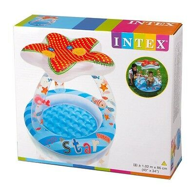 Intex Lil Star Shade Child Paddling Pool Sunshade Summer Outdoor Inflatable