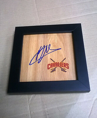 MO WILLIAMS Cleveland Cavaliers Signed + Framed Floor