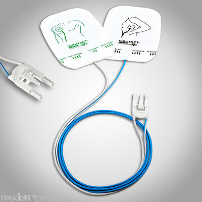 Skintact Easibeat AED Electrode Pads - DF28N - Zoll M, E, R, Series