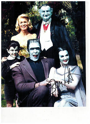 Eddie Munster Butch Patrick MUNSTERS Signed Photo PROOF (SIGNED IN BLACK)