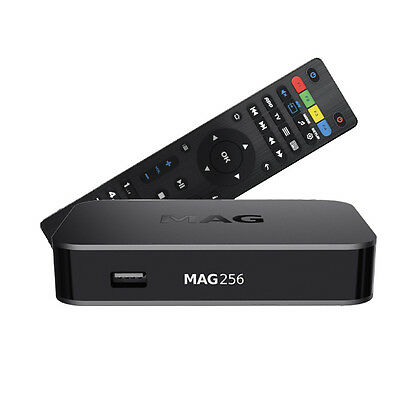 MAG 256 Genuine Original From Infomir Linux IPTV/OTT Box, Faster than MAG 254