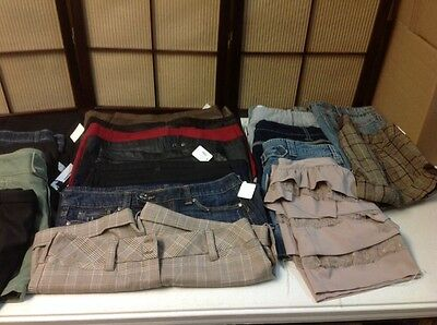 Wholesale LOT Jrs/Ms Skirts & Shorts Mixed Sizes 23 Pieces