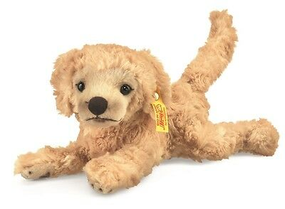 STEIFF ~ Golden Retriever LUMPI Welpe 22cm blond - 280375 ~ NEU*