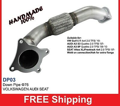 Exhaust Front Downpipe turbo AUDI S3/A3 TFSi '07-Turbo