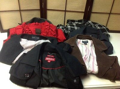 Wholesale LOT Jrs/Ms Coats & Jackets Sizes Vary 7 Pieces