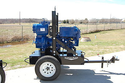 "6"" Barco Pump trash pump w/ Gorman Rupp and Deutz engine"