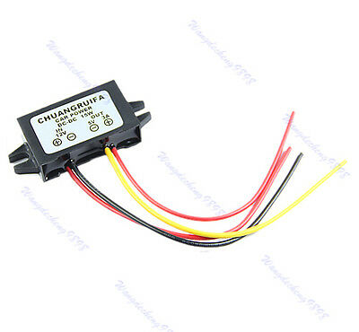 Down to 5V Power Supply Module 3A 15W Better Waterproof DC-DC Converter 12V Step