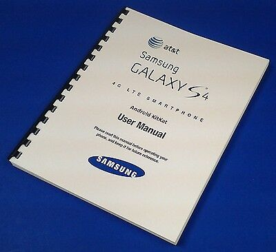Samsung Galaxy S4 KitKat User Manual for AT&T (model SGH-i337)