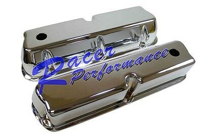 ALUMINUM FORD VALVE COVERS TALL 289-302-351W 5.0 SMOOTH