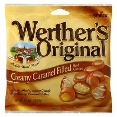 Werther's Original Creamy Caramel Filled Hard Candy 5.5 oz Bag