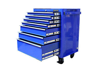 11 Us Pro Tools Blue Steel Tool Box / Chest / Toolbox Cabinet Finance Available