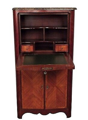 1900's, French-Style, Marble-Top *Secretaire* -Excellent-