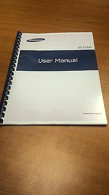 Samsung Galaxy Note 3  Gt-N9005 Printed Instruction Manual User Guide 177 Pages