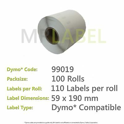 Dymo 99019 Compatible Roll of Labels (100 Rolls)