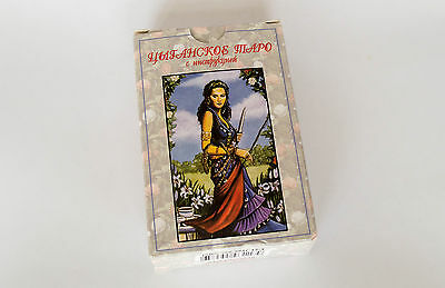 Gypsy New Tarot Oracle Deck 78 Cards Цыганское Таро with Russian Manual Romany