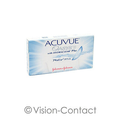 Johnson & Johnson - Acuvue Oasys with Hydraclear Plus - 6er Box