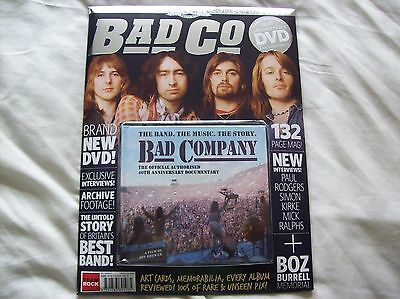 Classic Rock Presents Bad Company Magazine & Dvd Collectors Pack...new