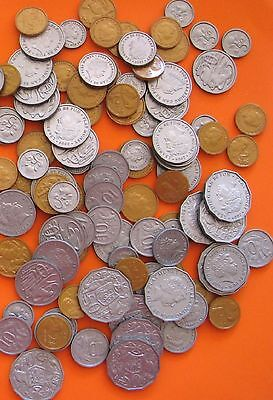 Realistic Australian Play Money Coins  106 pieces