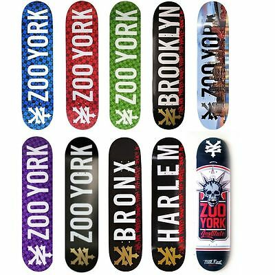 Zoo York Deck FREE GRIP FREE POST Skateboard Board NEW Zooyork 7.75 8 8.25 8.5