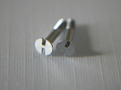 Parts @ 6.5mm Watch Stainless Bezel & Strap H Screw For Hublot