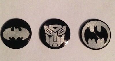 IPhone Home Button Stickers! Batman & Transformers.. US SELLER! Iphone