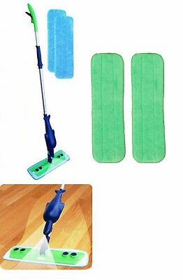 Refillable Spray Mop Kit  with 4 Microfiber Mop Pads, Free Shipping!