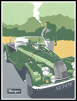 012 Vintage Transport Poster Art  Morgan