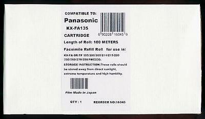 New KX-FA135 Fax Cartridge for Panasonic KX-FP255 KX-FP258 KX-FP260 KX-FP265