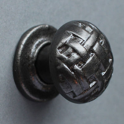 Cast Iron Cabinet Knobs Kitchen Drawer Cupboard Door Victorian Antique - Cn12