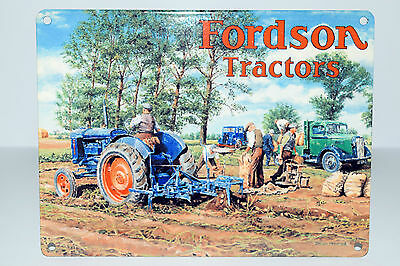 Ford/New Holland Tractor Advertising Tin Signs '9 variations' danglers! Gt gift!