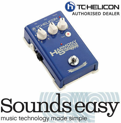 TC Helicon HARMONY SINGER - Vocal Harmonizer & Effects Processor Guitar Pedal