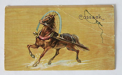 Vintage Cossack Lion Coffee Trade Card
