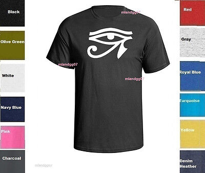 Eye Of Ra Horus T-shirt  Egyptian Symbol Power of Good Health Shirt  SIZES S-5XL