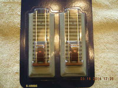 49866 S Gauge Fastrack Lighted Bumpers Brand New