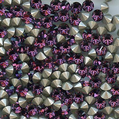 1028 PP11 A *** 50 STRASS SWAROVSKI FOND CONIQUE 1,75mm AMETHYST F