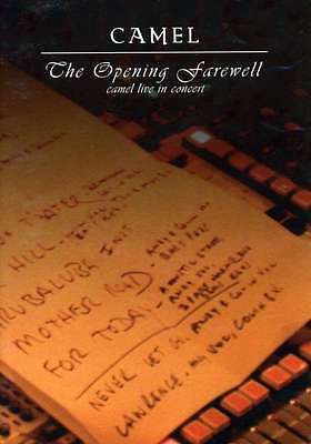 DVD Camel - The Opening Farewell