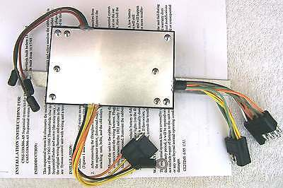 T1) 1965 Ford Thunderbird Tbird Sequencer Sequential Turn Signal kt