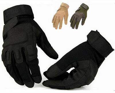 Outdoor Sport Military Tactical Airsoft Hunting Shooting CS Army Cycling Gloves