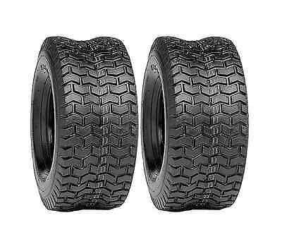 (2) 16x6.50-8 TURF TIRES, 4 Ply Tubeless for John Deere Lawn Mower Tractor Rider