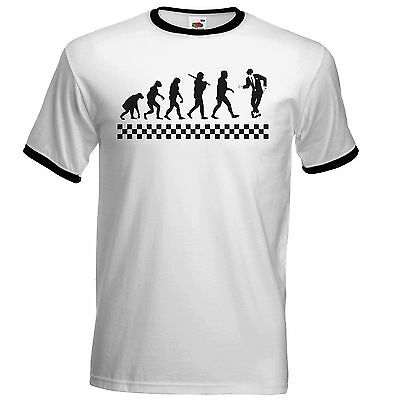 02c41c78 Evolution Of Ska T Shirt The Specials Madness 2Tone Ska Dammers Suggs Two  Tone