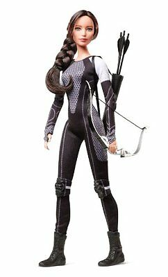 Barbie Black Label: The Hunger Games Katniss Everdeen Collectors Doll - NEW