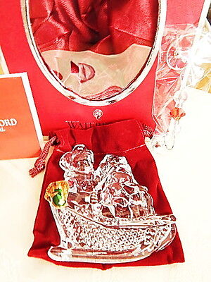 Waterford Crystal 2013 CHRISTMAS WONDERS Ornament - NEW / BOX!
