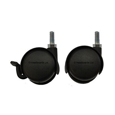 Premium Bed Furniture Castors/ Casters with M8 Stem Designed for Carpets