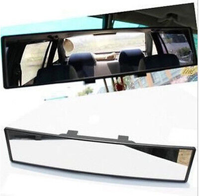 1x 300mm Wide Curve Inner Clip On Rear View Rearview Mirror Universal Car Truck