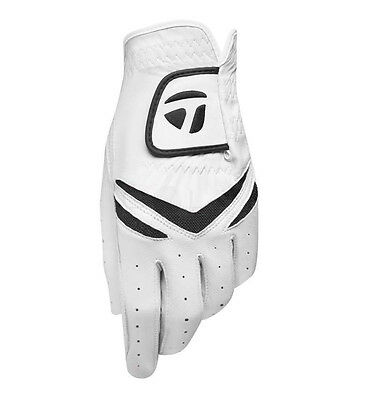 NEW TaylorMade Stratus Leather Golf Medium Large Left Gloves for Right Hand Mens