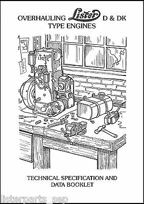 Overhauling Lister D & DK Type Engines Booklet